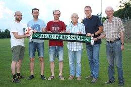 Neuer Obmann und neuer Trainer beim ATSV Auersthal