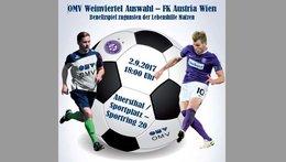 Benefizspiel Austria Wien