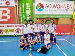Auersthal U11 holt 3. Platz beim Sparta-Hallencup